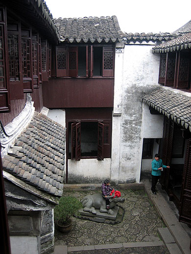 Inside Old Zhouzhuang Houses