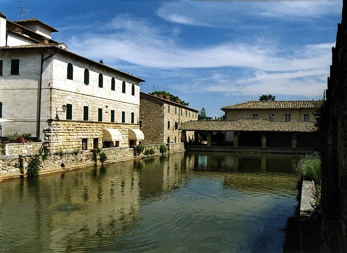Foto Di Bagno Vignoni Provincia Di Siena